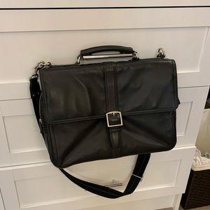 Coach Men's Leather Briefcase